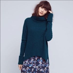 Anthropologie Moth Fireside Turtleneck Sweater